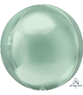 "16"" Orbz™ Mint Green Foil Balloon"