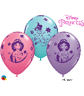 "11"" Disney Princess Jasmine Assortment Latex Balloons 25 count"