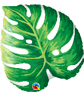 "21"" Tropical Philodendron Foil Balloon"
