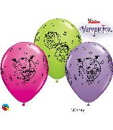 "11"" Disney Vampirina Assortment Latex Balloons"