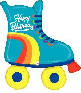 """39"""" Foil Shape Balloon Roller Skate Birthday"""