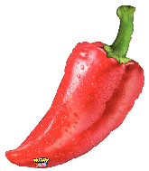"""34"""" Mighty Bright® Balloon Shape Mighty Pepper"""