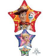 """42"""" Jumbo Toy Story 4 Foil Balloon"""