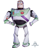 "62"" Toy Story 4 Buzz LightyearAirWalkers Foil Balloon"