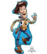 "44"" Jumbo Toy Story 4 Woody Foil Balloon"