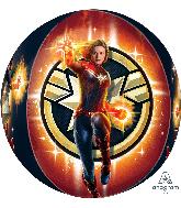 """16"""" Captain Marvel Orbz Foil Balloon"""