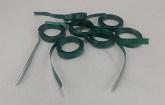 Green Precut Ribbon Length 7.3 Feet (100 Per bag)