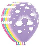 "11"" Magical Rainbow Balloons (50 ct.)"