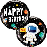 "18"" Birthday Astronaut Foil Balloon"