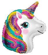 "18"" Colorful Unicorn Foil Balloon"