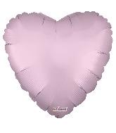 "9"" Solid Color Matte Pink Foil Balloon"