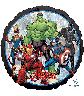 "18"" Avengers Marvel Powers Unite Foil Balloon"