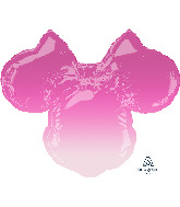 "28"" Minnie Mouse Forever Ombré SuperShape Foil Balloon"