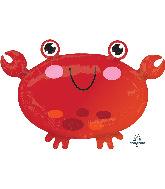 "22"" Crab Foil Balloon"