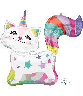 "31"" Caticorn SuperShape Foil Balloon"