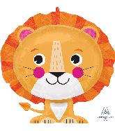 """24"""" Lion SuperShape Foil Balloon"""