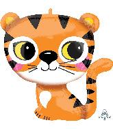 "25"" Tiger SuperShape Foil Balloon"