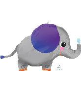 "34"" Elephant SuperShape Foil Balloon"