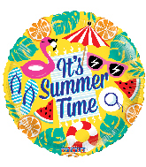 "17"" Summertime! Foil Balloon"