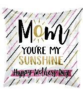 "17"" Mom Sunshine Foil Balloon"