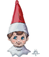 "38"" Jumbo The Elf on the Shelf Foil Balloon"