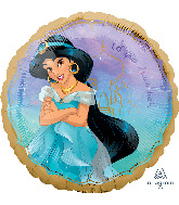 """18"""" Jasmine Once Upon A Time Foil Balloon"""