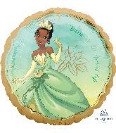 """18"""" Tiana Once Upon A Time Foil Balloon"""