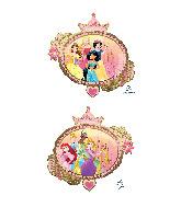 """34"""" Jumbo Princess Once Upon A Time Foil Balloon"""