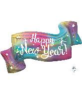 "39"" Jumbo Happy New Years Banner Foil Balloon"