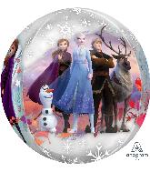 """16"""" Orbz Clear Disney Frozen 2 Foil Balloon"""