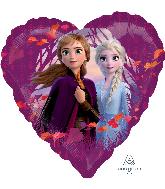 "18"" Disney Frozen 2 Love Foil Balloon"