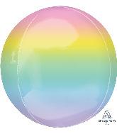 """16"""" Ombre Orbz Pastel Foil Balloon"""