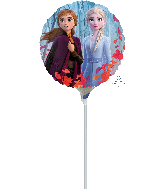 "4"" Frozen 2 Airfill Only Foil Balloon"