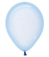 "11"" Betallatex Latex Balloons Crystal Pastel Blue"
