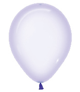 """11"""" Betallatex Latex Balloons Crystal Pastel Lilac"""