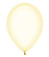 "11"" Betallatex Latex Balloons Crystal Pastel Yellow"