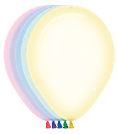 "5"" Betallatex Latex Balloons Assorted Crystal Pastel"