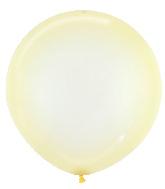 "24"" Betallatex Latex Balloons Crystal Pastel Yellow"