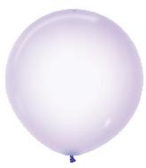 """24"""" Betallatex Latex Balloons Crystal Pastel Lilac"""