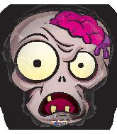 """18"""" Zombie Head Foil Balloon"""