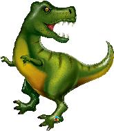 """42"""" Tyrannosaurus Foil Balloon"""