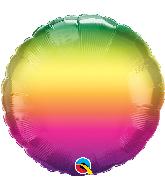 "18"" Vibrant Ombre Foil Balloon"
