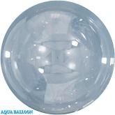 2.75 Inches Aqua Bobo Bubble Balloons (10 Pack)