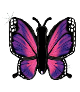 """46"""" Holographic Radiant Butterfly-Pink Foil Balloon"""