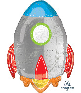 "29"" Spaceship Foil Balloon"
