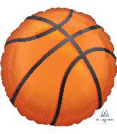 """28"""" Jumbo Nothin' but Net Basketball Foil Balloon"""