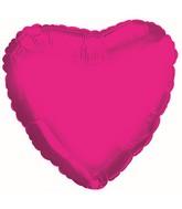 "18"" CTI Brand Hot Pink Heart"