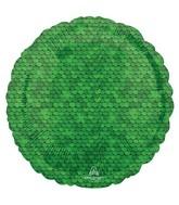 "18"" Forest Green Sequins Foil Balloon"