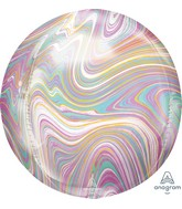 "16"" Marblez Orbz Pastel Orbz Foil Balloon"