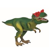 "12"" Airfill Only Dino With Heart Glasses Foil Balloon"